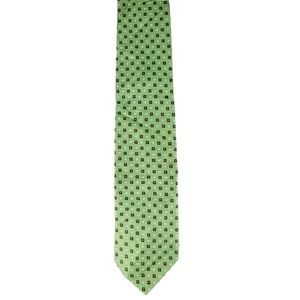 Altea Milano Green Silk Tie